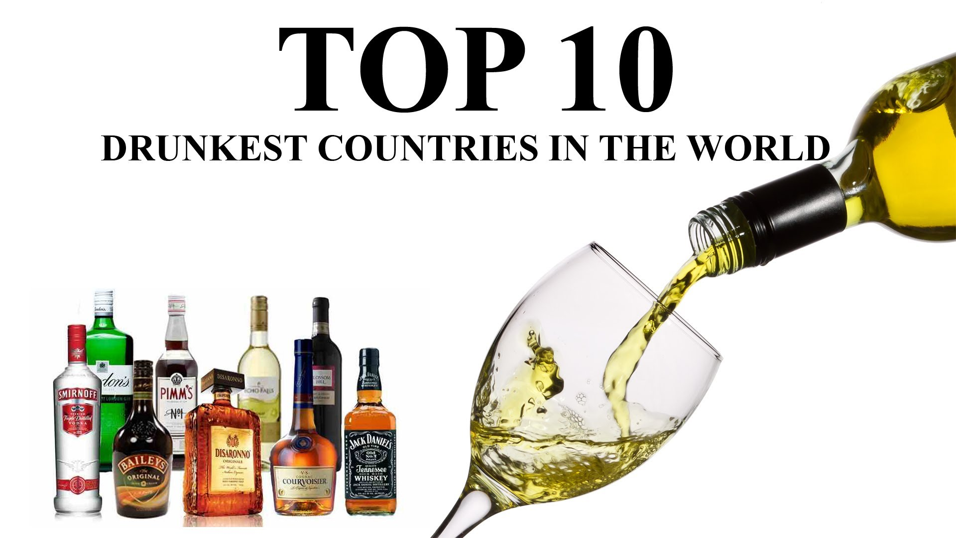 The World's Top 10 Drunkest Countries From The World Health Organization