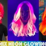 Rainbow Hair Trend ! Hair Color That GLOWS In The Dark (Pictures & Video)